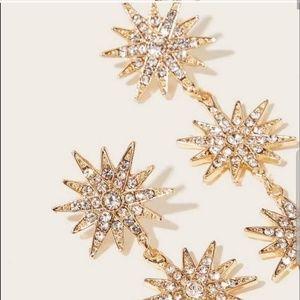 Jewelry - 2for$30!! NWT Star Drop Earrings
